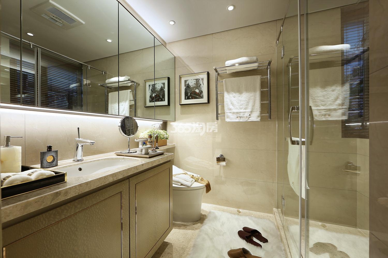 融信公馆ARC139㎡样板房---卫浴间