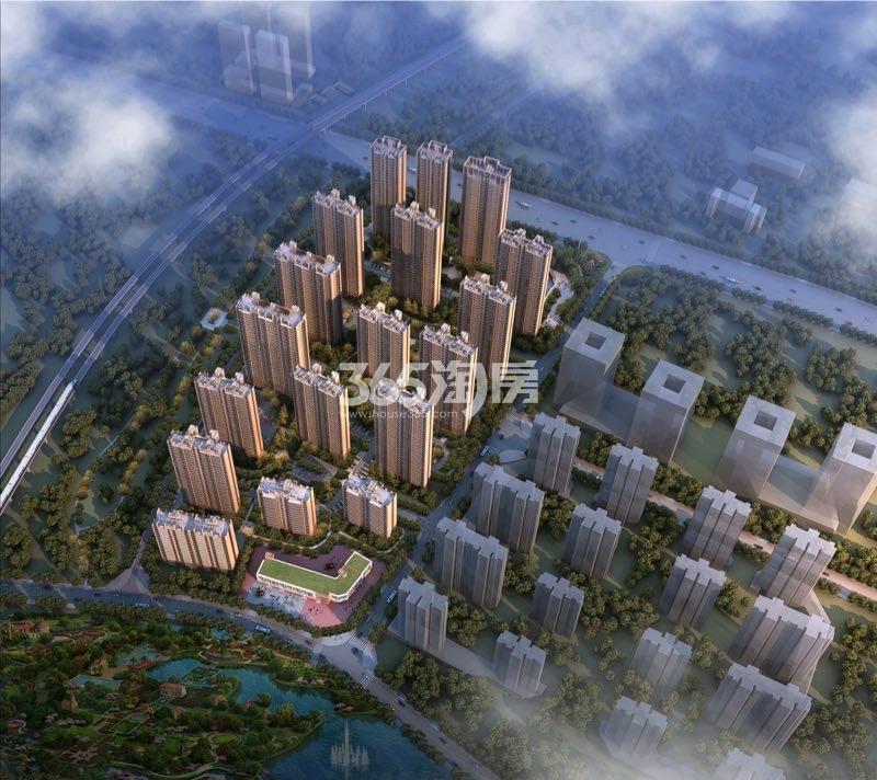 蚌埠碧桂园 鸟瞰图