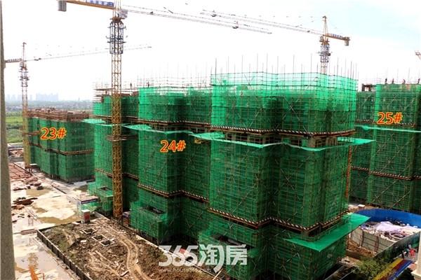 新华联梦想城23#、24#、25#工程进度(2016年7月摄)