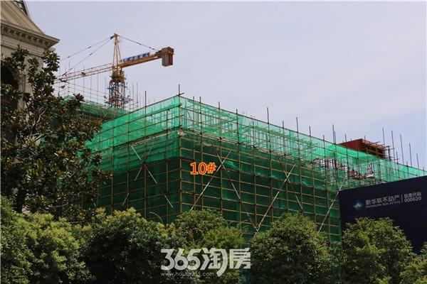 新华联梦想城10#工程进度(2016年7月摄)