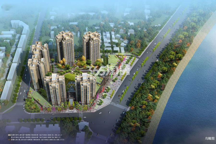三江国际丽城澜岸·商铺鸟瞰图