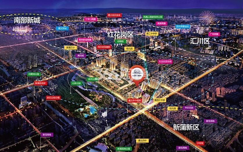 渝欧教育城交通图