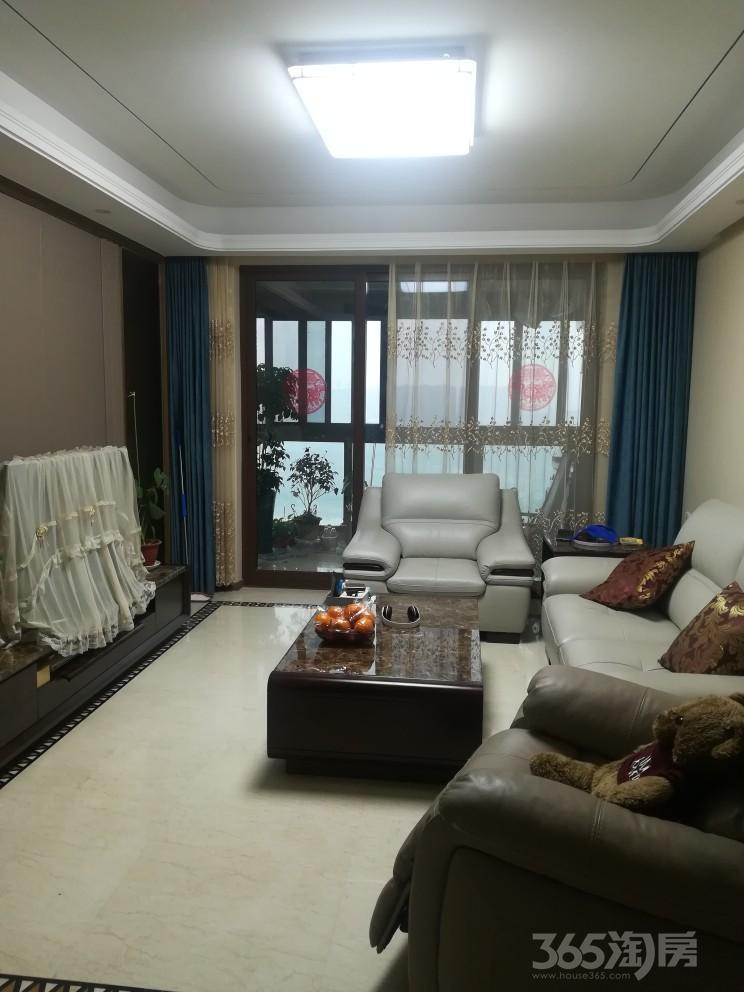 秦新名邸3室2厅2卫124.00平米整租豪华装,有车位