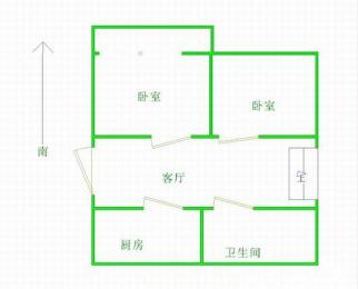 顺驰优选房:大众巷安三小45中双学区双地铁沿线,绝版三居室