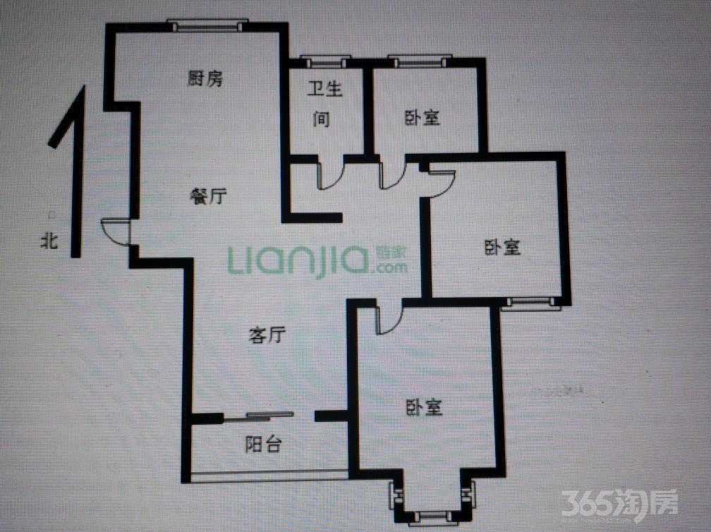 天宁常州弘阳广场3室2厅1卫114�O