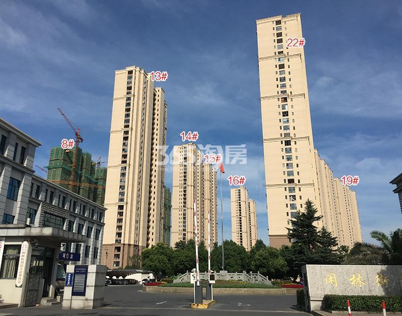 雅居乐国际花园项目东侧楼幢实景图(2018.6)