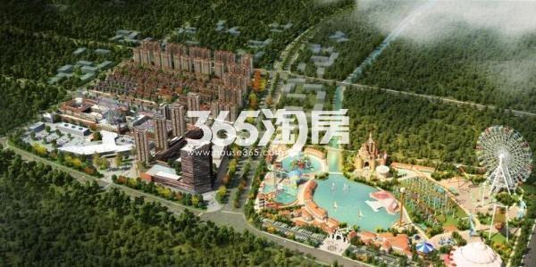 华强文化旅游城鸟瞰图