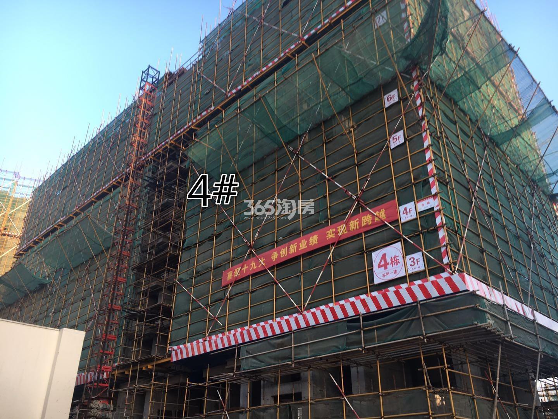 江山薈4号楼实景图(12.18)