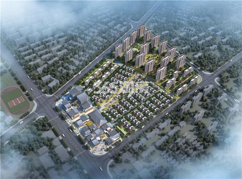 淮海绿地21城鸟瞰图