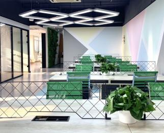 珠江路南京88号创客空间共享办公680一个工位起