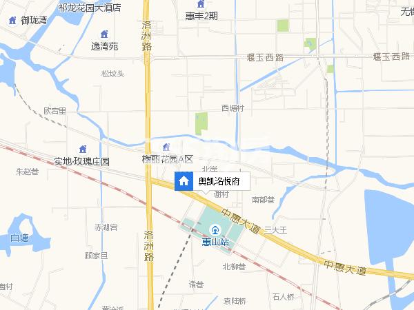 奥凯洺悦府交通图