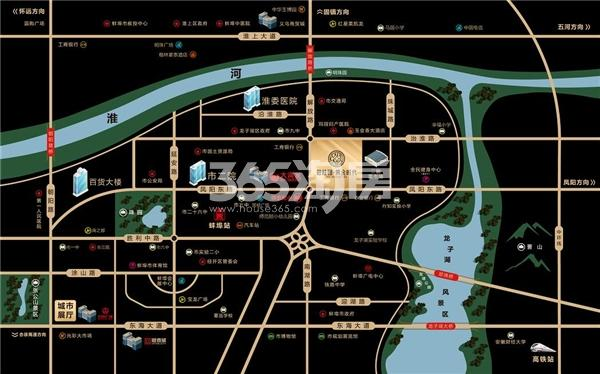 碧桂园黄金时代交通图