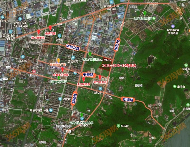 熙悦滨湖湾交通图