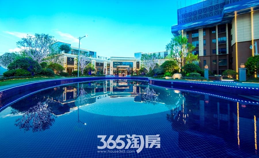 碧桂园镜湖世家营销中心内景实景图(2018.8摄)