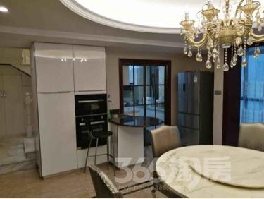 东方熙龙山院4室2厅3卫219平米豪华装产权房2015年建