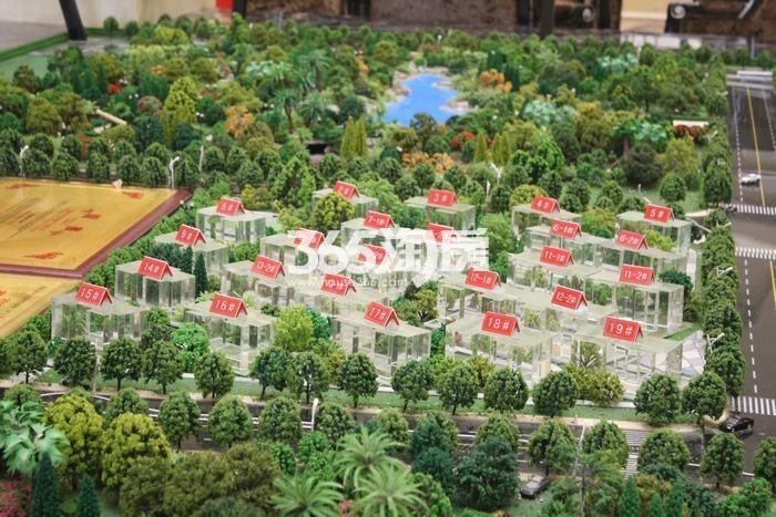 德杰国际城项目二期沙盘实景(2017.9.5)