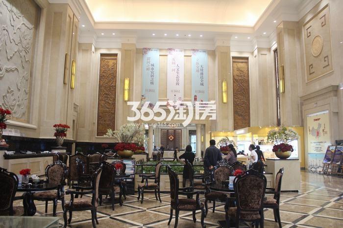 德杰国际城项目售楼部实景(2017.9.5)
