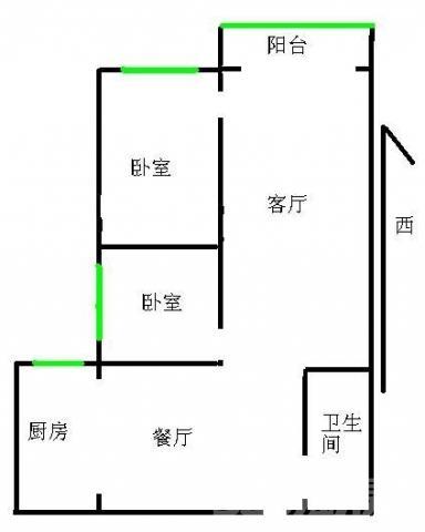 西安中学附近 海�Z蓝寓 2室豪装 诚心出售 看房随时