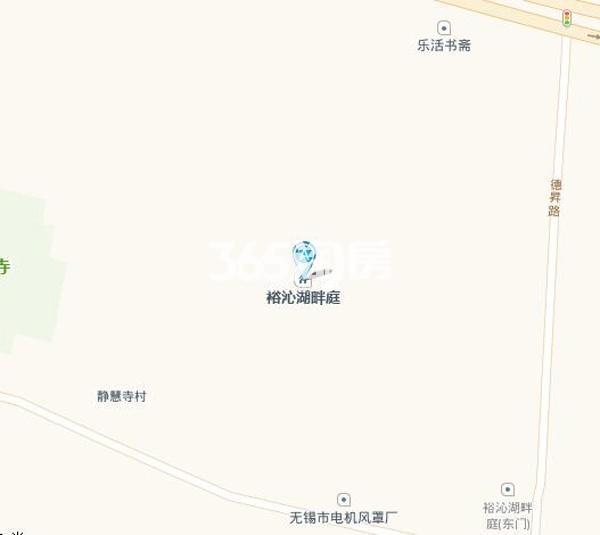 裕沁湖畔庭交通图