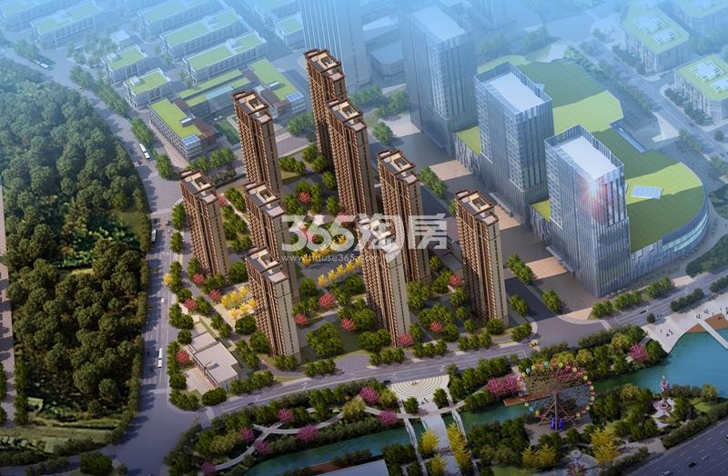 宝湾国际城鸟瞰图