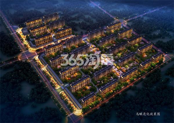 东部美的城鸟瞰图