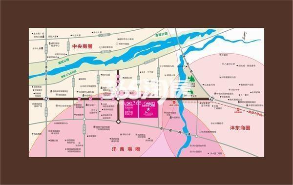 金泰丝路荟区位图