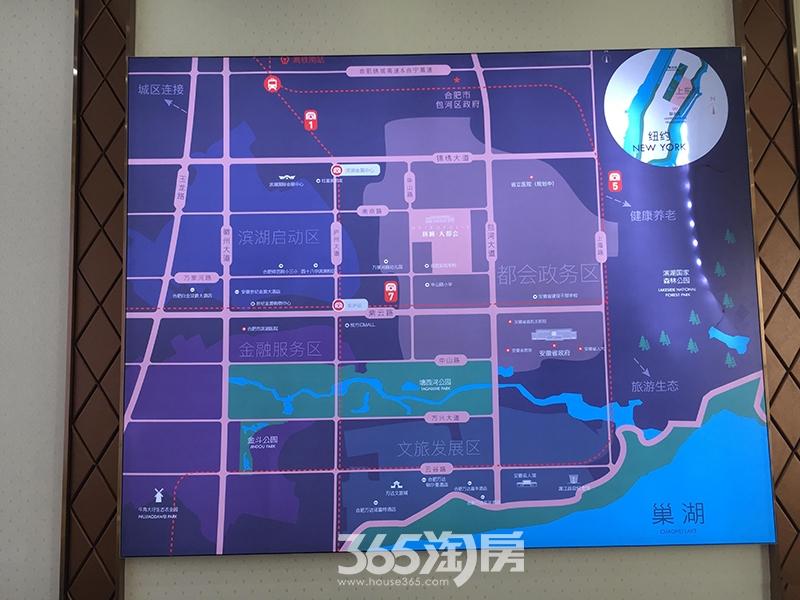 新城合肥大都会交通图