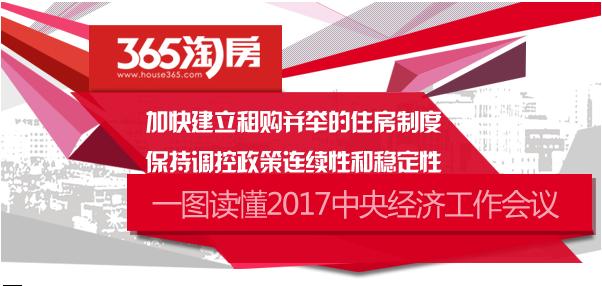 图解2017中央经济工作会议:实行差别化调控 鼓励租购并举