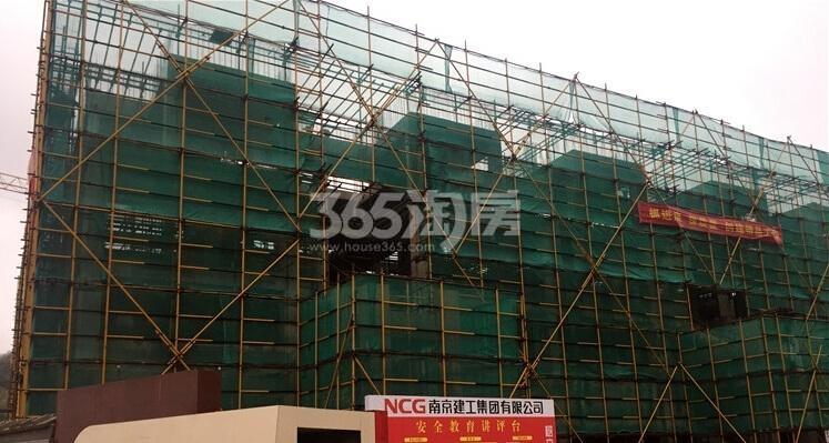 银亿东城在建楼栋实景图(12.10)