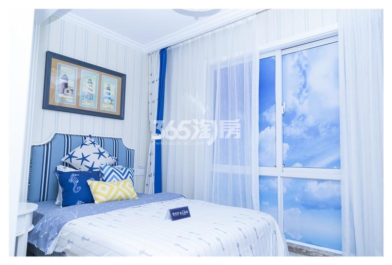珍宝岛领寓46㎡样板间—卧室