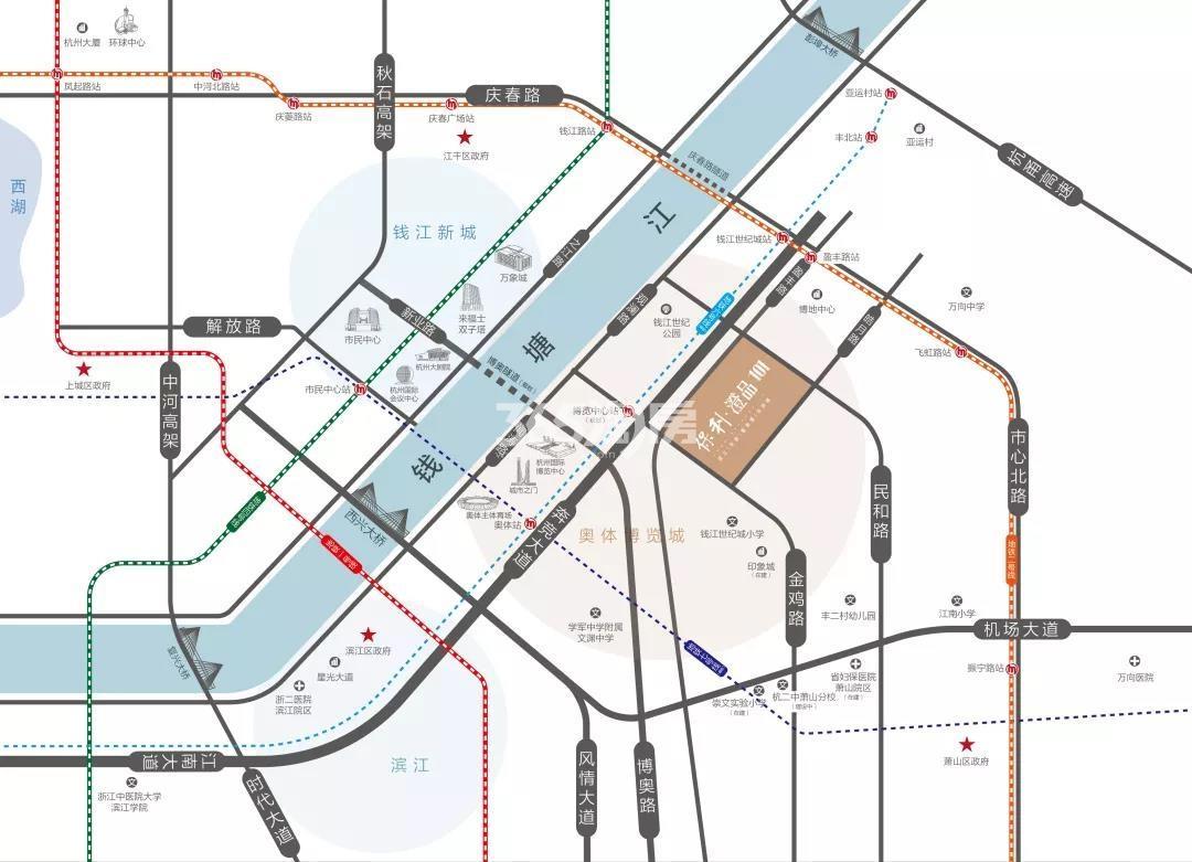 澄之华庭交通图