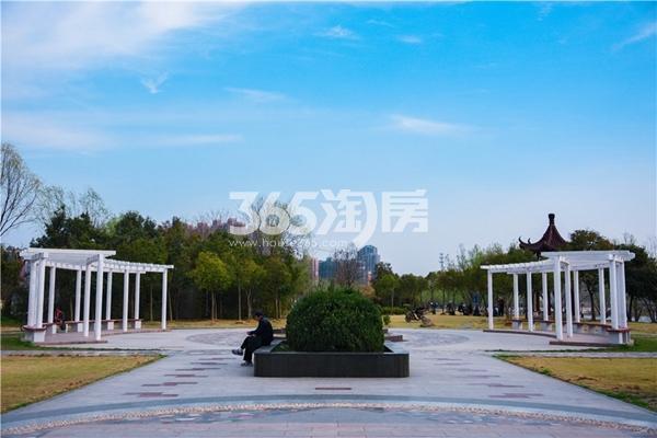 柏庄香府 周边公园 201804