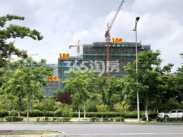 中锐星公元10#、11#、18#楼工程进度实景(2018.6摄)