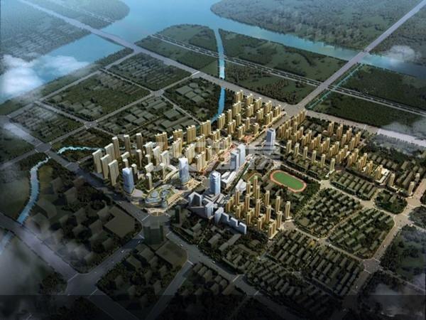 万泰时代城鸟瞰图