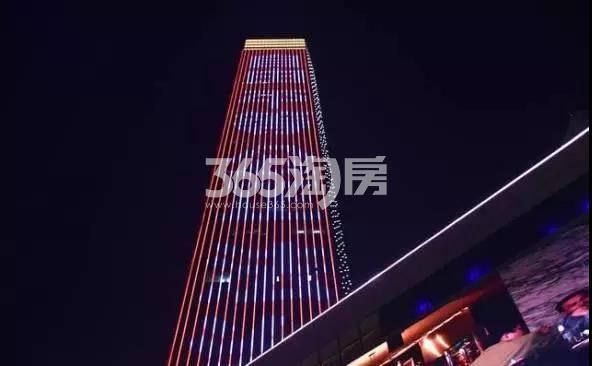 华邦ICC主体楼夜景展示(2018.2.5)