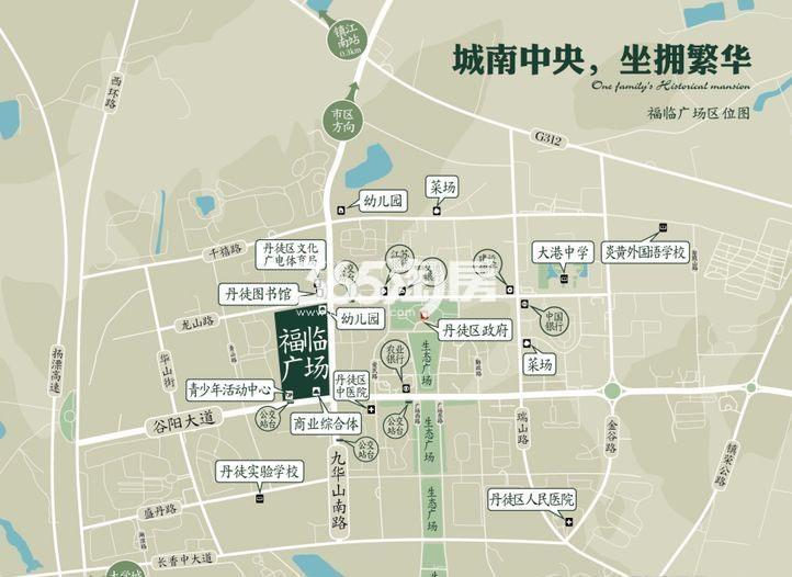 福临广场交通图