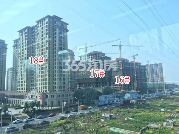 长泰国际社区南地块高层16-18#楼实景图(2018.4 摄)