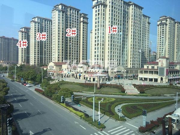 长泰国际社区南地块高层1-4#楼实景图(2018.4 摄)