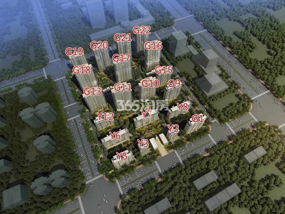 碧桂园中堂鸟瞰图