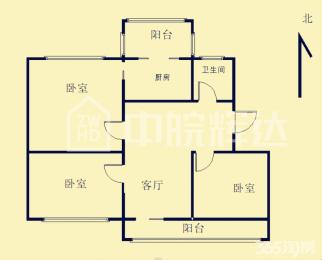 安然绿洲南区3房2厅 绝对的性价比,看房有钥匙