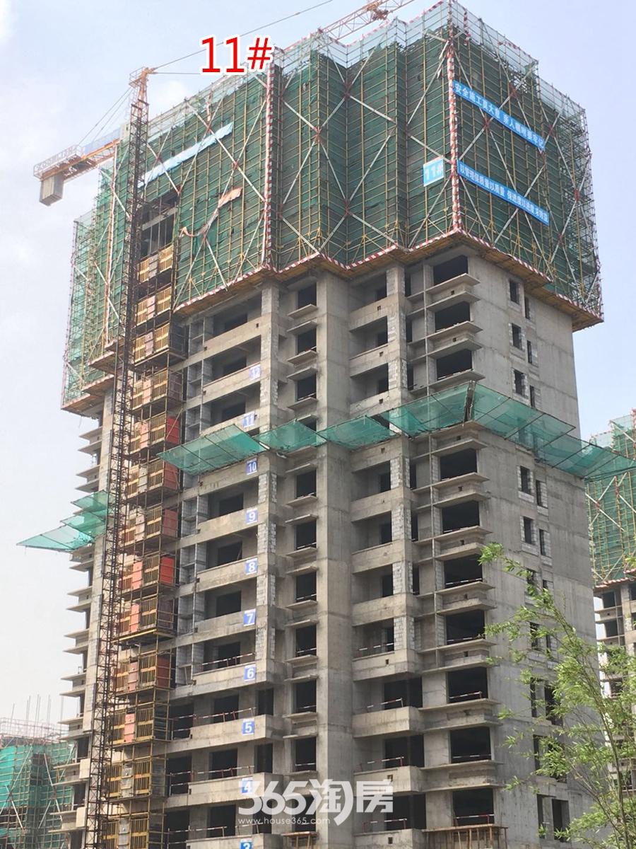 翰林公馆11#楼工程进度图(2018.3摄)