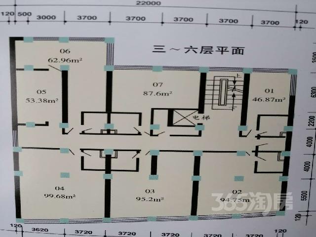 崇宁路商业用房545�O1998年可注册公司精装