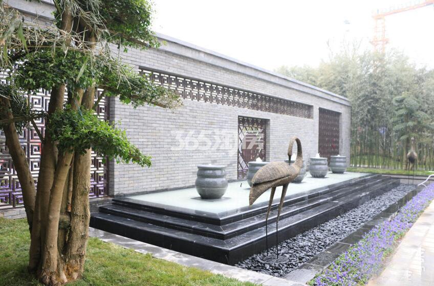 恒大翡翠龙庭园林实景(拍摄于20171110)