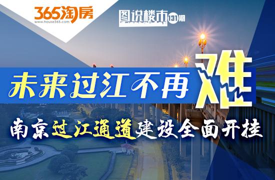 南京24处过江通道建设全面开挂