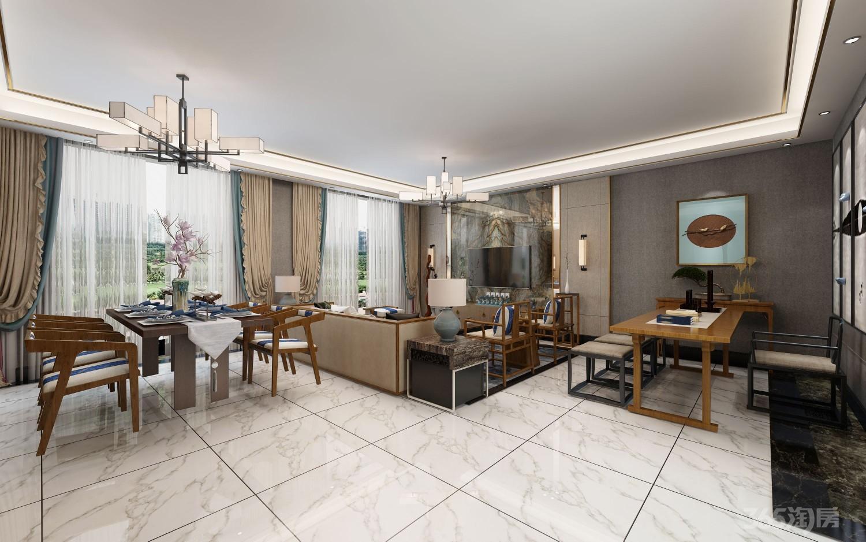 金桥别墅花园4室3厅3卫208平米2015年产权房精装
