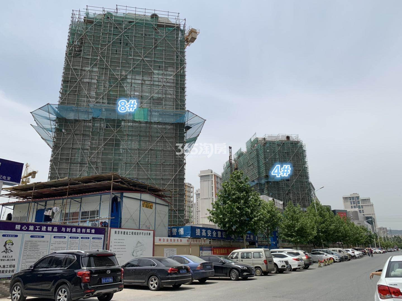 通宇林景尊园4、8号楼实景图(5.7)