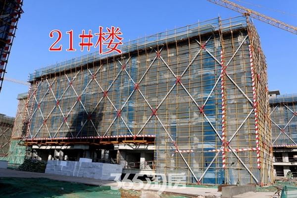 荣盛华府21#施工中(2017.12摄)