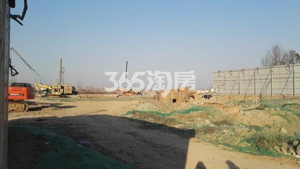 融创玉兰公馆项目工程进展实景(12.25)