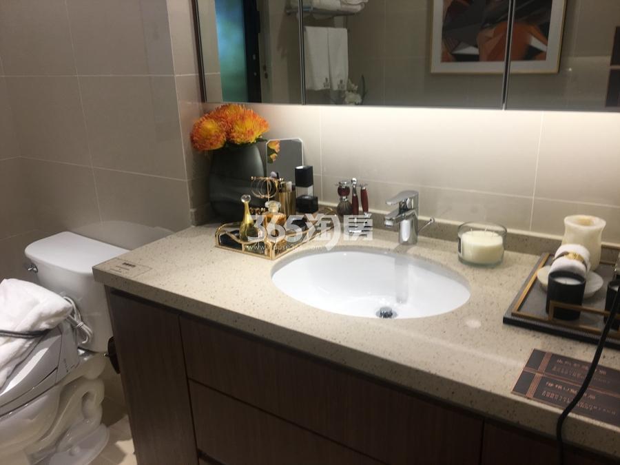 新城香悦公馆A4户型138方样板房——卫浴