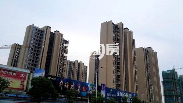 世茂东都天城四期工地实景图2(8.14)